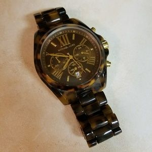 Michael Kors Bradshaw Womens Tortoise Watch